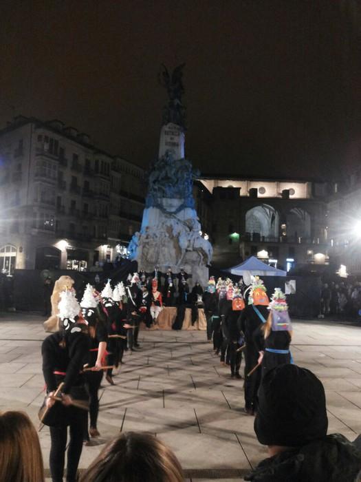 Euskal Herri osoko inauteriak, 'Indarteriak' ikuskizunean