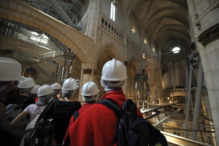 Ibilbide birtualak Santa Maria katedralean