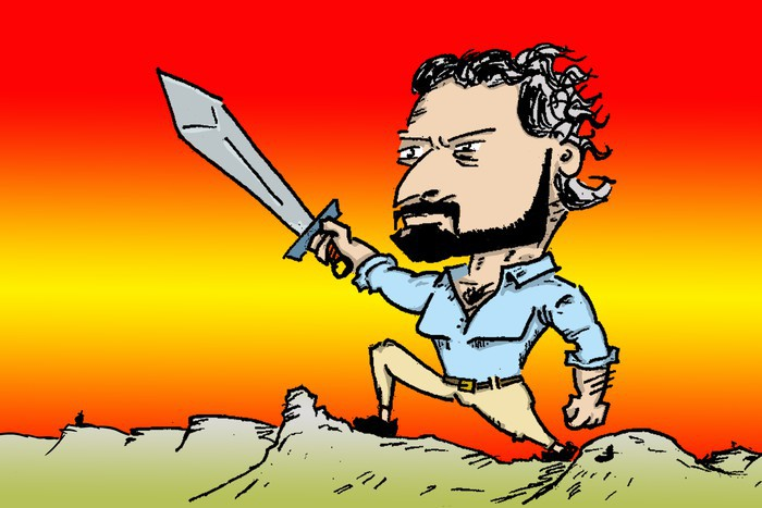 """Santiago Abascal: """"konplexurik gabeko"""" faxista baten gorakada"""